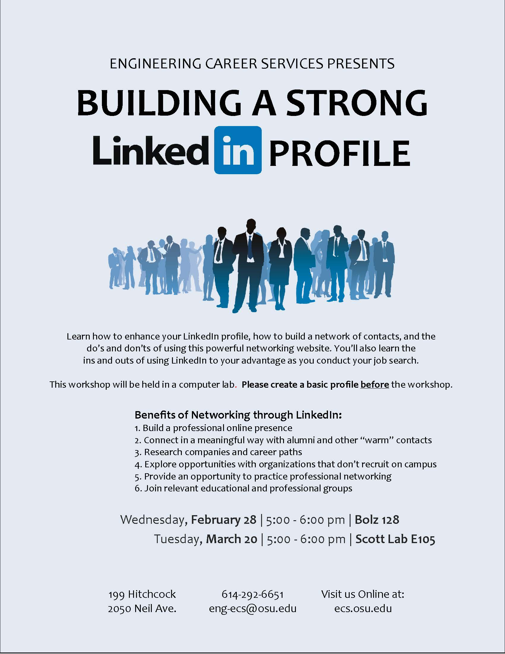 ECS Workshop - Building a Strong LinkedIn Profile  a6c917ed66d