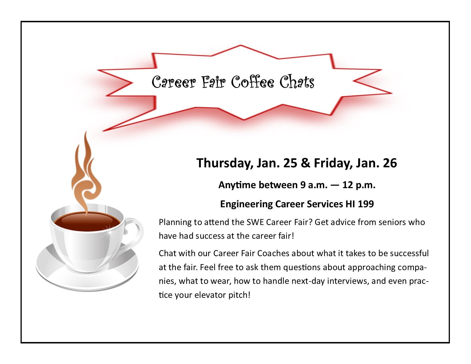 ECS - Career Fair Coffee Chat | Engineering Career Services