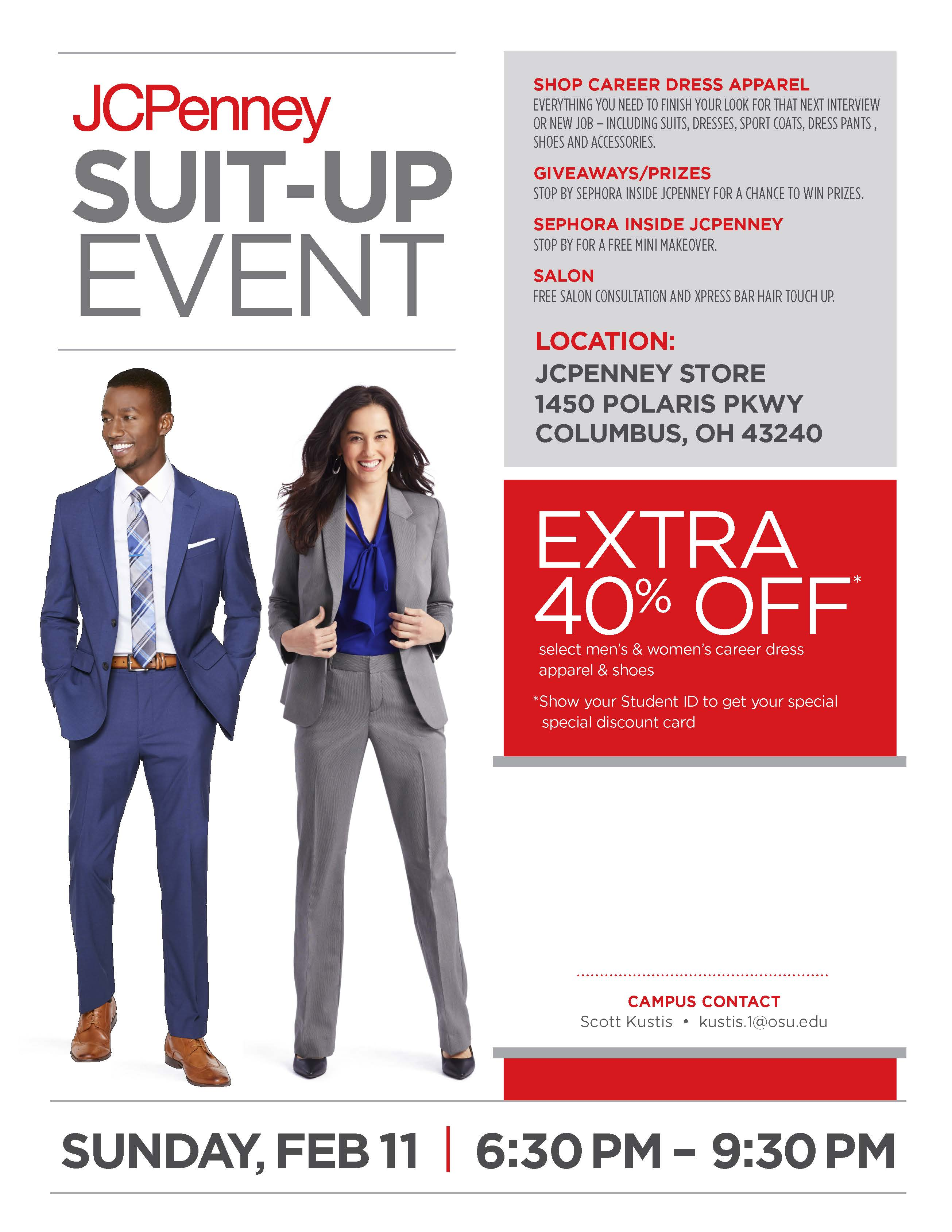 JCPenney Suit-Up Event | Engineering Career Services