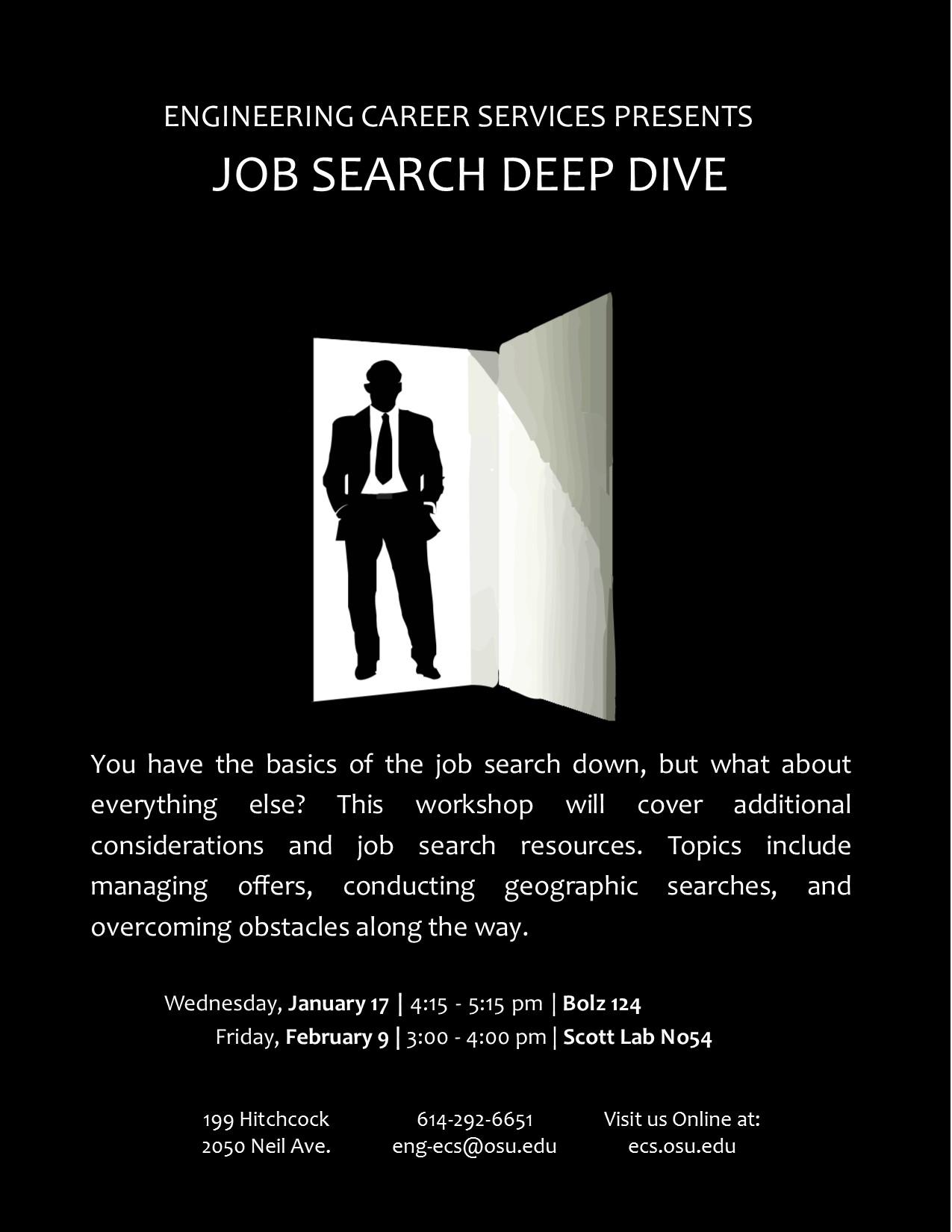 ECS Workshop - Job Search Deep Dive | Engineering Career ...